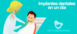 Implantes dentales inmediatos en un día, ¿es posible?